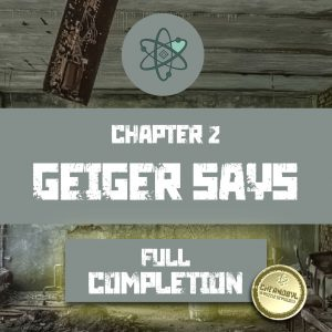 Geiger Says completion certificate