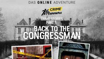 Crime Runners: Back to the Congressman (Play at Home)