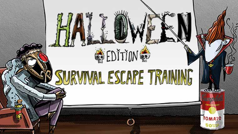clueQuest: Halloween Survival Escape Training (Play at Home)