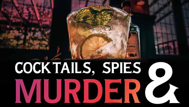 QuestVenture: Cocktails, Spies and Murder (Play at Home)