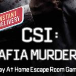 Panic Room: CSI: Mafia Murders (Play at Home)
