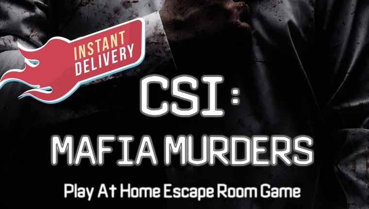 Panic Room: CSI: Mafia Murders (Play at Home)
