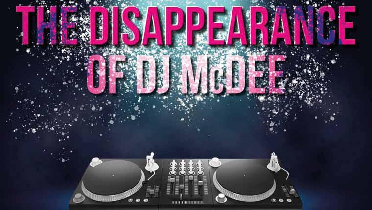 Clue Cracker: The Disappearance of DJ McDee (Play at Home)