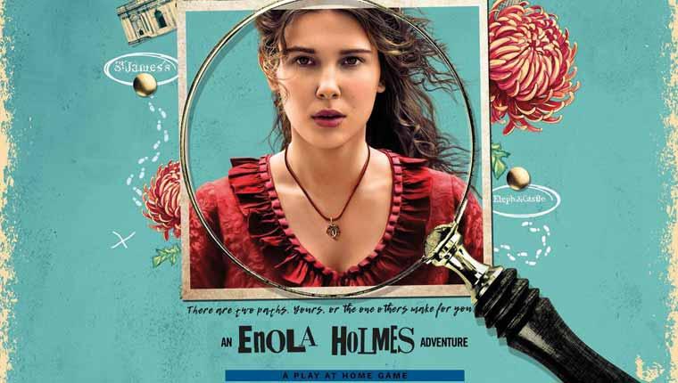 Escape Hunt: Enola Holmes (Play at Home)