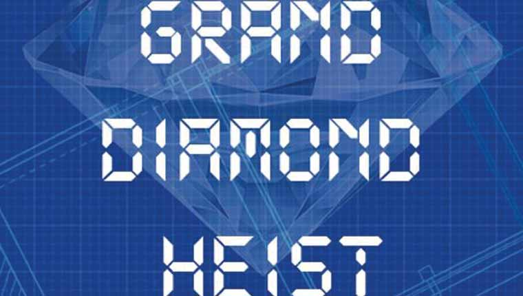 Escape at Home: Grand Diamond Heist (Print + Play)
