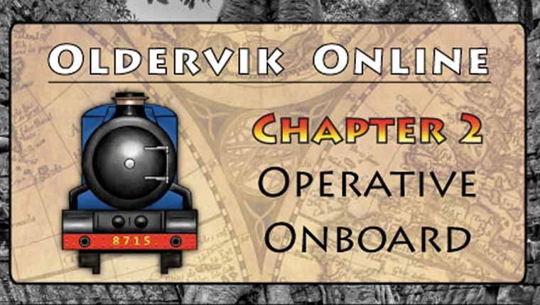 CoDecode: Oldervik Online - Chapter 2, Operative Onboard