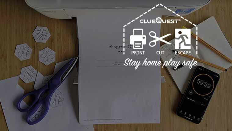 ClueQuest Print+Cut+Escape - Episode 1: Stolen IQ (Play at Home)