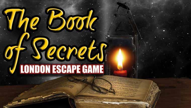 Clue Adventures: The Book of Secrets (London)