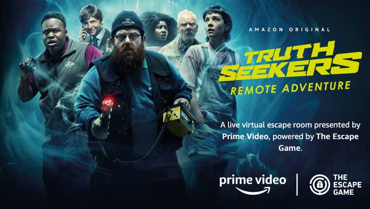 The Escape Game: Truth Seekers (Play at Home)